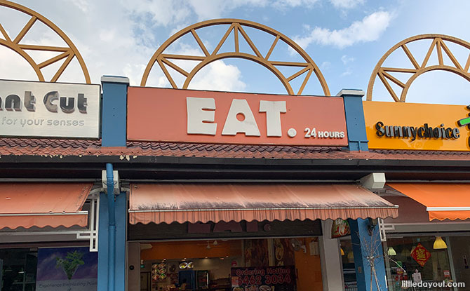 Eat, Eat, Eat: Restaurants & Dining Rail Mall