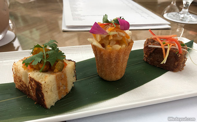 Starter Dishes At RISE