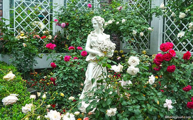 A European Garden - Rose Romance, Gardens by the Bay