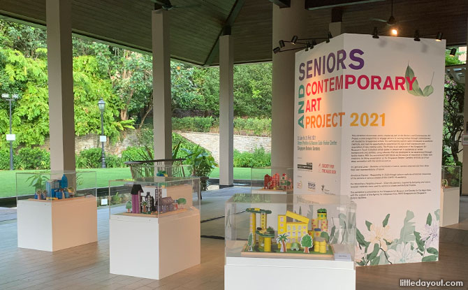 Seniors and Contemporary Art at Singapore Botanic Gardens
