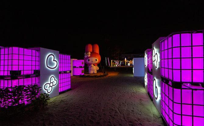 Sentosa Lights maze