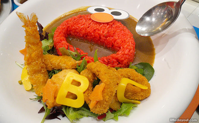 Know You ABCs at the Sesame Street Pop-up Café at Kumoya
