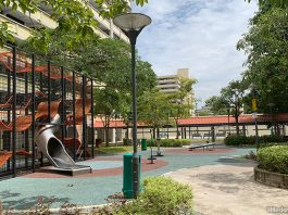 Simei Road Wallholla Playground: Neighbourhood Play