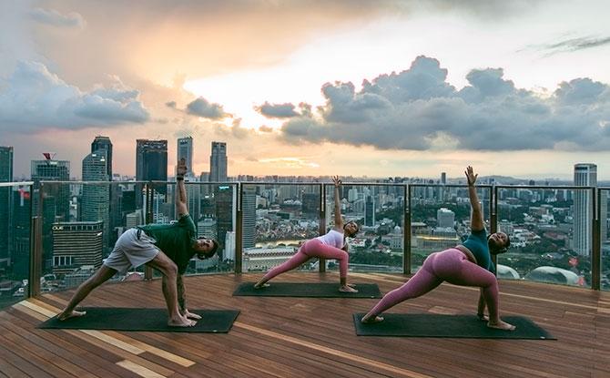 SkyPark Yoga classes
