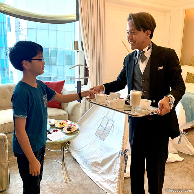 St. Regis Singapore Staycation Butler Service