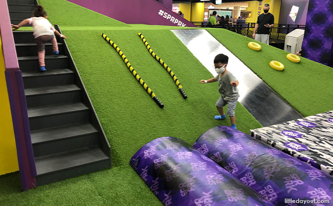 Fun For The Little Ones at SuperPark