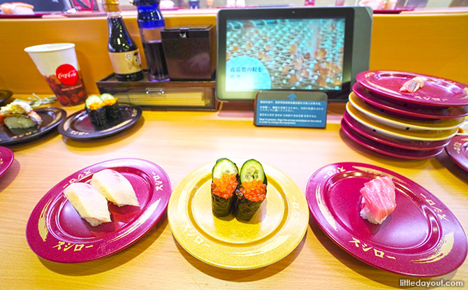Top 3 sushi dishes In Japan