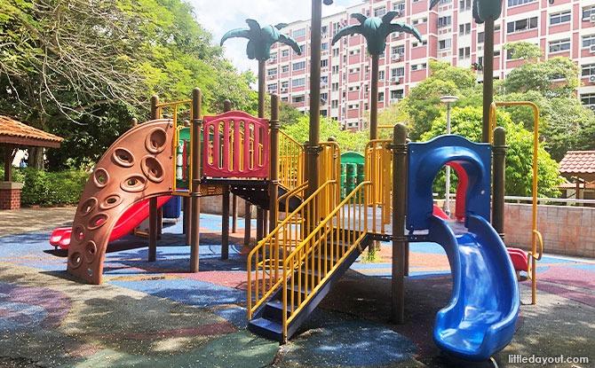 Playground at Tampines Tree Garden