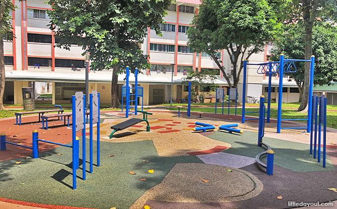 Fitness Area at Garden Community Park