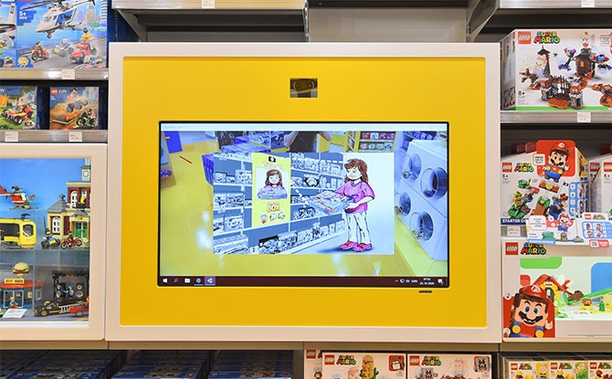 Seeing is believing with the LEGO Digibox at LCS Tampines Mall (Courtesy of LEGO Group 2020)