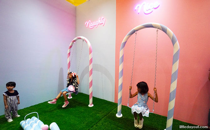 Candy Cane Room