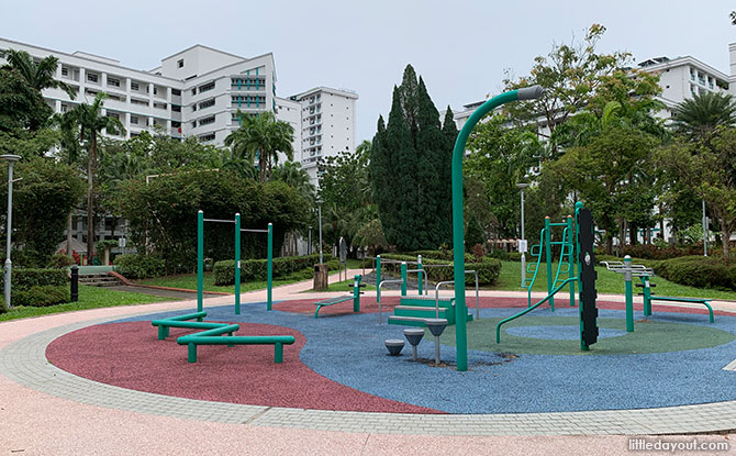 The Green Oval Fitness Area
