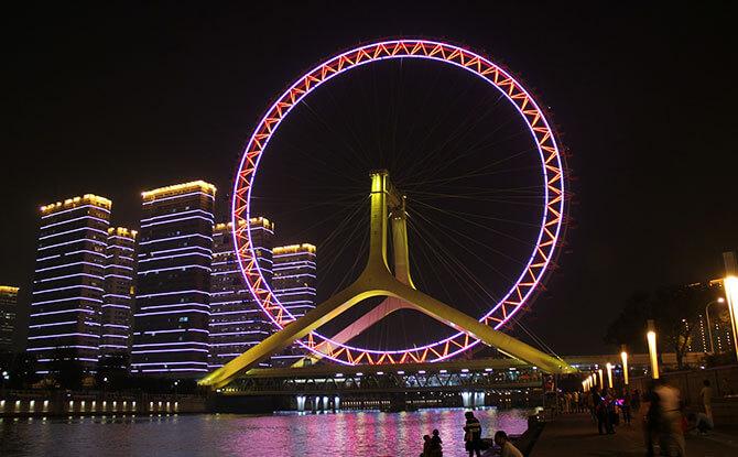 Soar with the Tianjin Eye