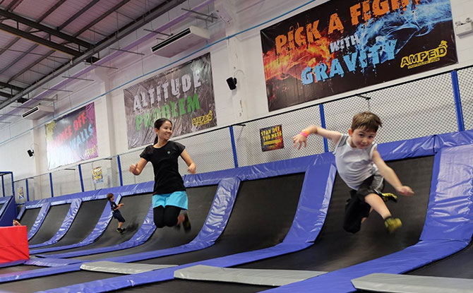 Trampoline Parks in Singapore: Where To Bounce Away The Day