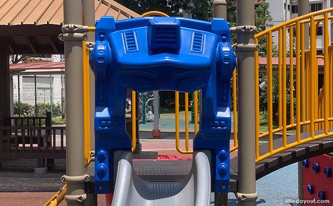Yishun robot playground - Transformer Playground