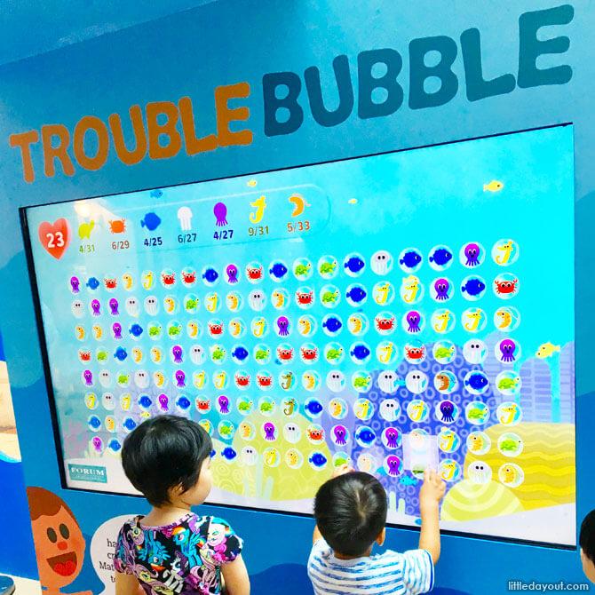 Station 1: Trouble Bubble
