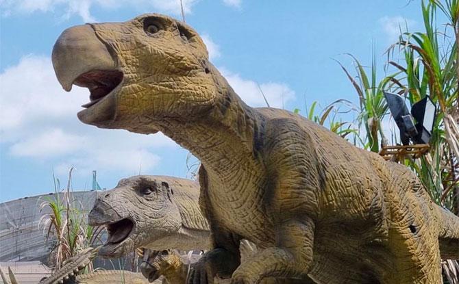 Dinosaur Park at Uncle Ringo Carnival 2021