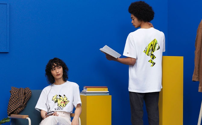 UNIQLO releases Pokemon T-Shirts designed By Artist Meguru Yamaguchi