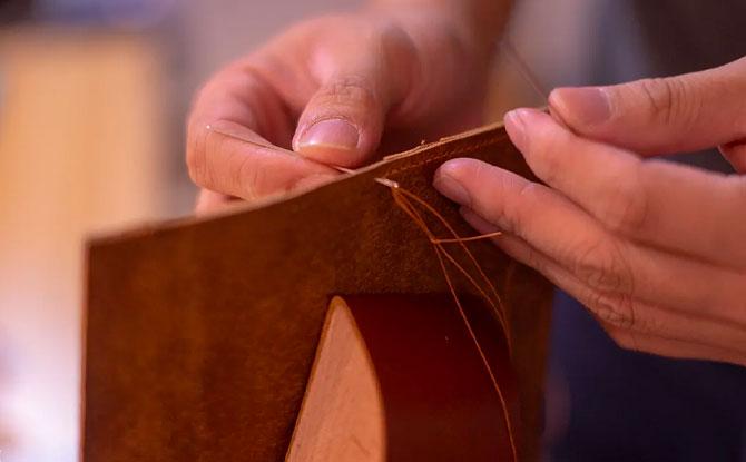 leather making workshop