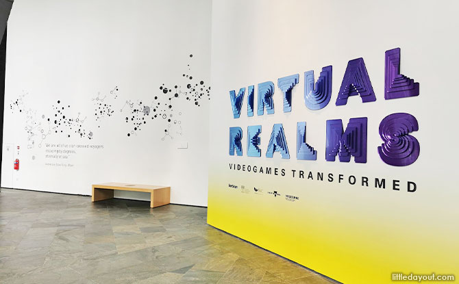 Overview of Virtual Realms: Video Games Transformed Exhibition