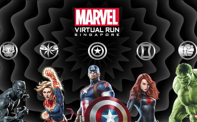 Marvel Virtual Run Singapore 2021