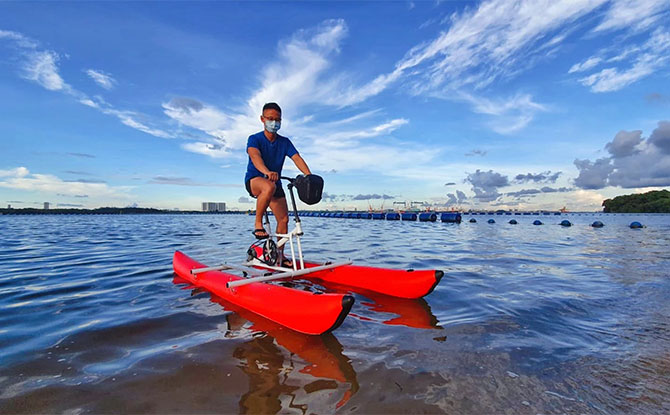 How to ride a Waterbike