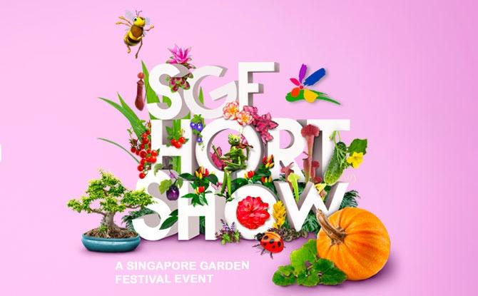 Participate in the Singapore Garden Festival Hort Show