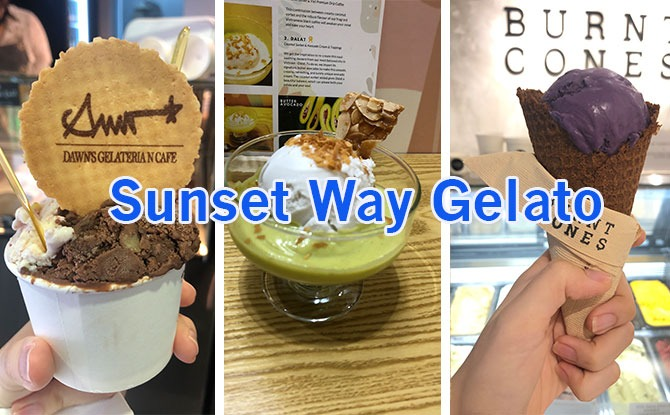 We Tried Three Sunset Way Gelato