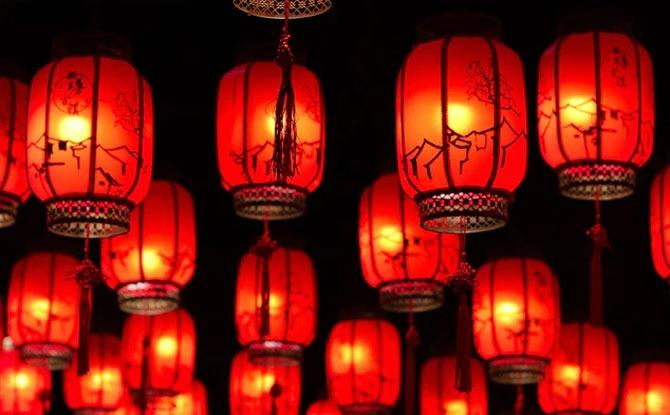 Lighting and Sending Of Lanterns