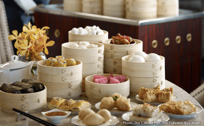 Dim Sum Brunch, The Clifford Pier, Fullerton Bay Hotel, Singapore