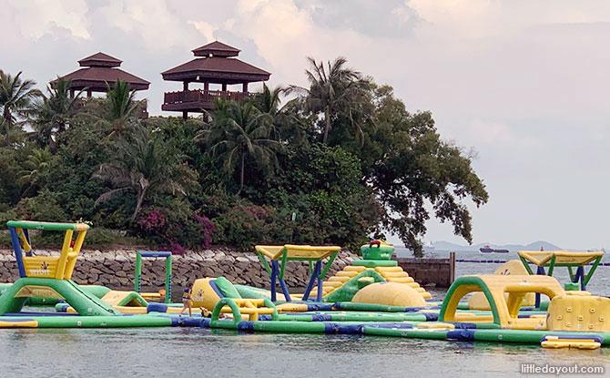 HydroDash: Inflatable Water Park At Palawan Beach, Sentosa