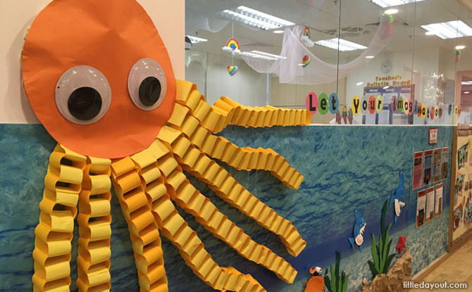Little Day Outing to MindChamps PreSchool @ Concorde Hotel (Orchard): Treasure Hunt Under the Sea
