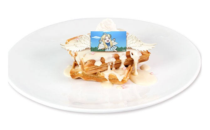 Angel's Landing Waffle Stack