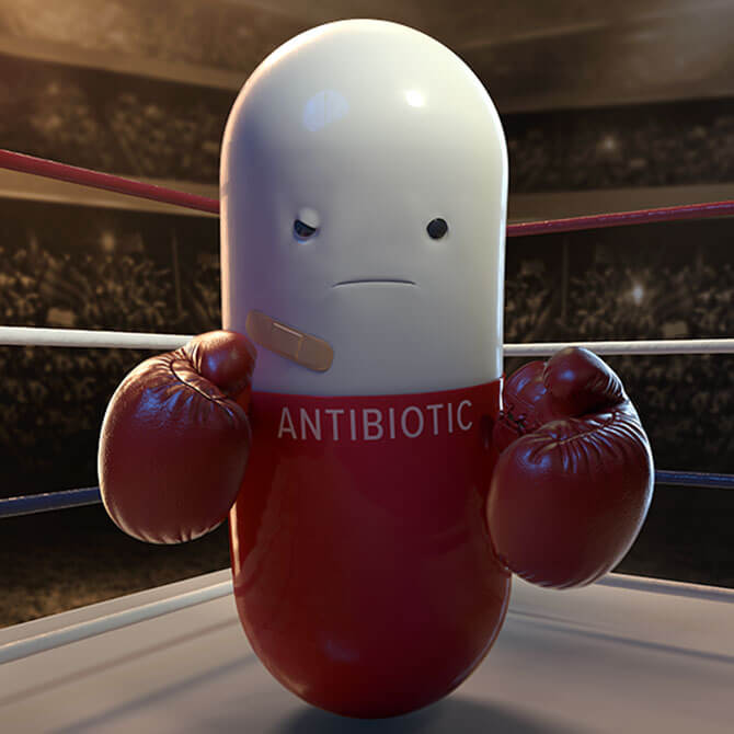Antibiotics Only Work For Bacterial Infections