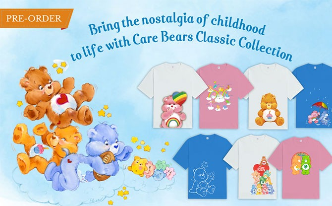 Exclusive Care Bear Apparel Classic