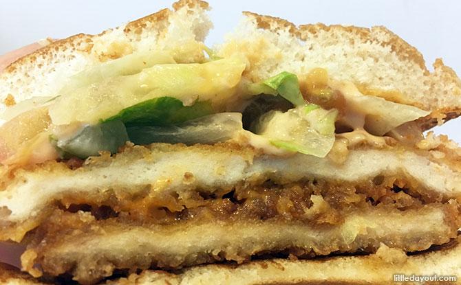 Burger King's Mentaiko Burger