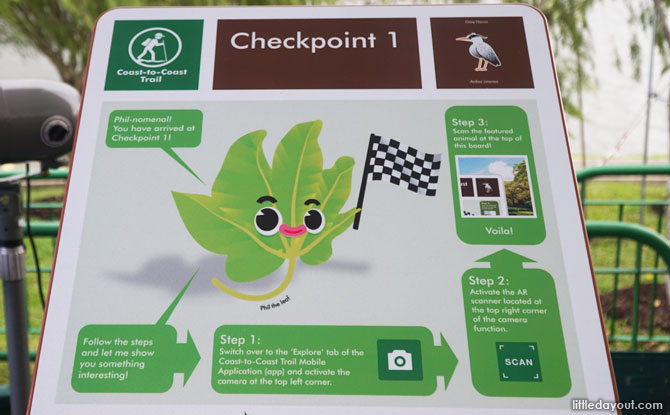 Checkpoints on the Coast-to-Coast Trail
