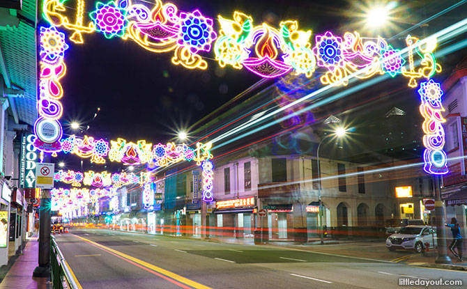 Streets of Little India lit up for Deepavali 2019