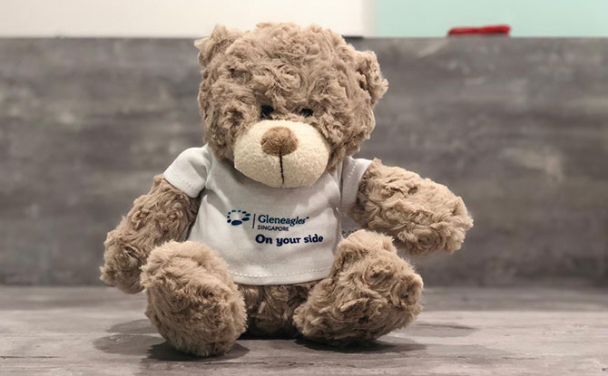 Win a bear on a Heritage Train at Gleneagles Hospital's Heritage Trail