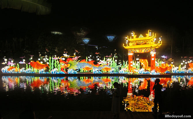 Leaping over the Dragon's Gate, Mid-Autumn Festival 2018 in Singapore