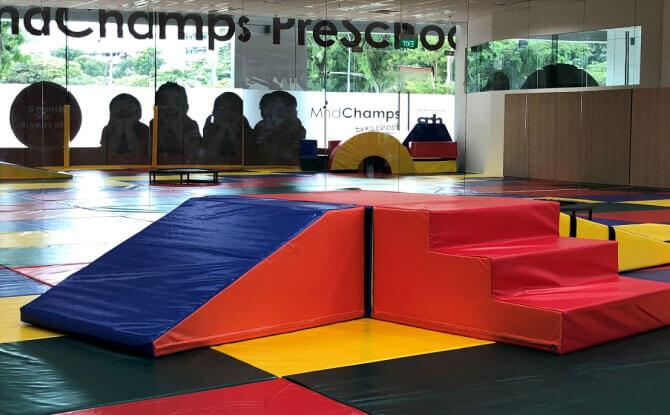 Gym Room at MindChamps PreSchool Boon Keng (Kallang)