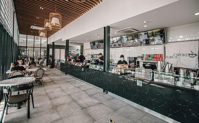 HUB & SPOKE Café