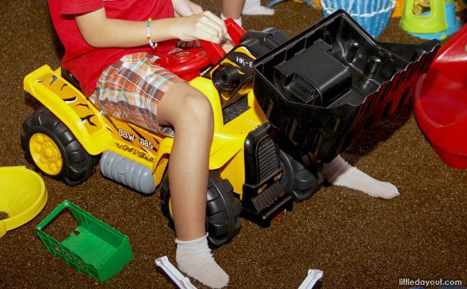 Toys at Happy Castle, Seletar Mall