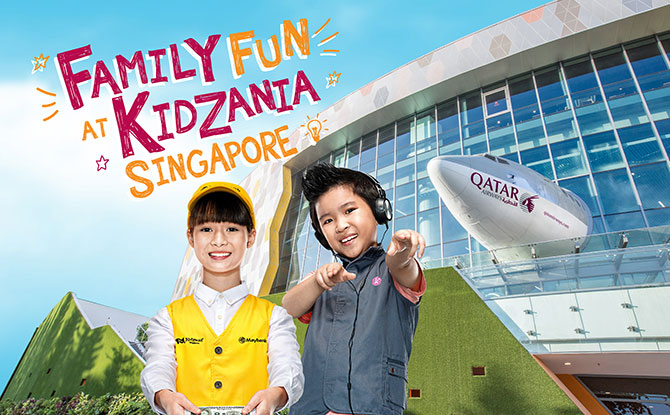 Pay a Visit to KidZania Singapore over the National Day Long Weekend 2019