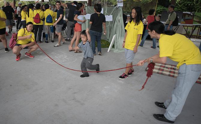 Kampung Games, Pesta Ubin