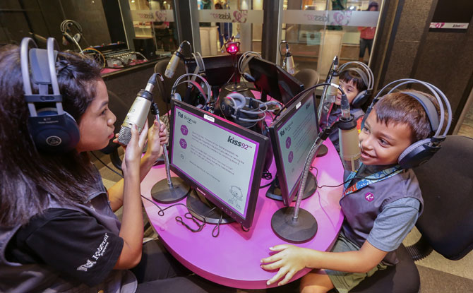 Be a World Cup Broadcaster, KidZania Singapore