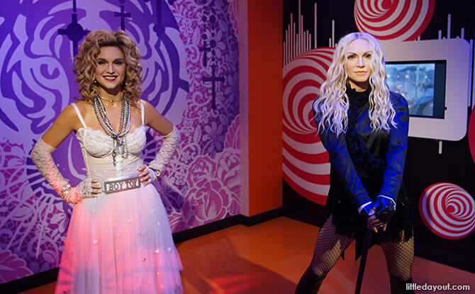 Double dose of Madonna, Tokyo Madame Tussauds