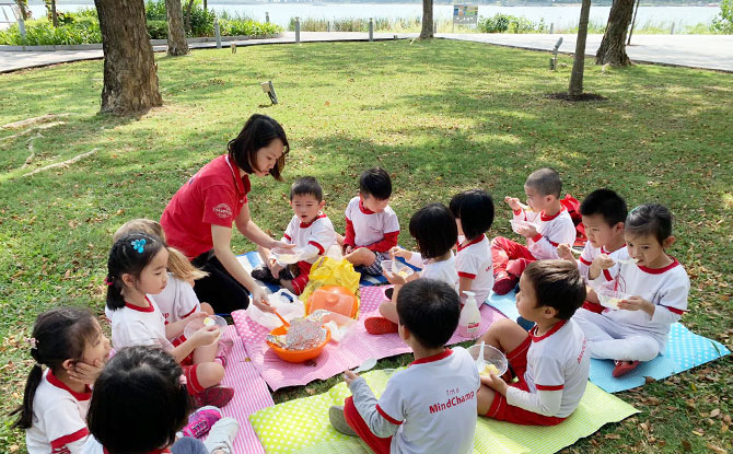MindChamps PreSchool Kallang Leisure Park Picnic