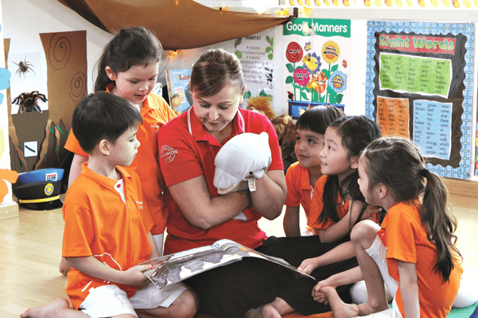 Let your child learn to read with the MindChamps reading programme at Changi Airport.