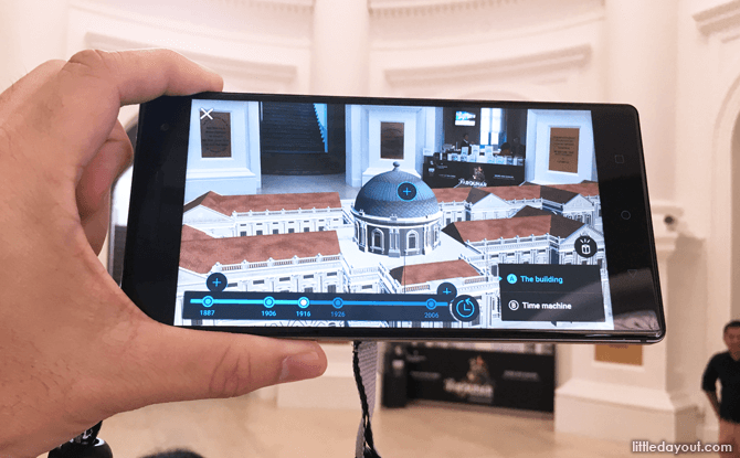 3D Model of National Museum of Singapore's Building